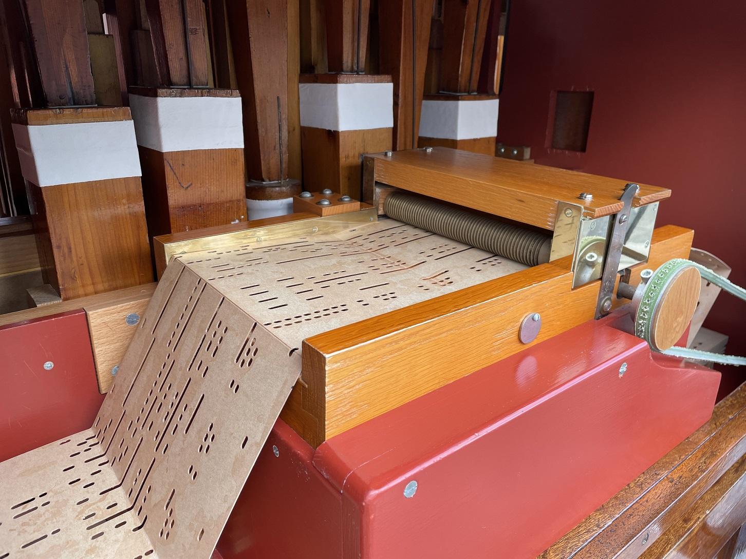 Orgelboek Vierkantje